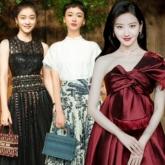 Cảnh Điềm, Ngô Cẩn Ngôn tạo hình đối lập, nổi bật tại show diễn của Dior ở Thượng Hải