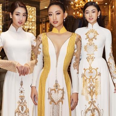 Hoa hậu Đỗ Mỹ Linh, Lương Thùy Linh và dàn mỹ nhân nổi tiếng tỏa sắc trên thảm đỏ show diễn của NTK Linh San