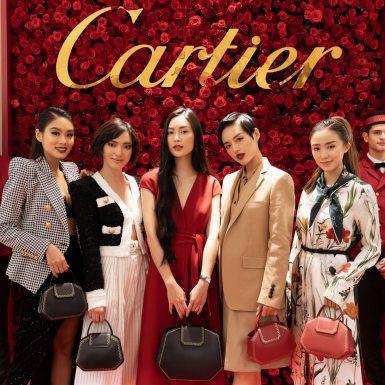 """Sức hút khó cưỡng từ chiếc túi xách Guirlande de Cartier """"hớp hồn"""" những cô nàng đình đám"""