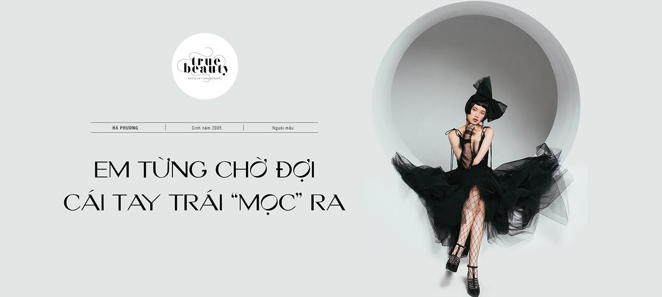 Người mẫu 14 tuổi Hà Phương: \