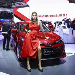 Toyota đã trẻ trung năng động hơn tại VMS 2019