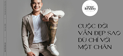 Nguyễn Văn Lưu: Cuộc đời vẫn đẹp sao dù chỉ với một chân