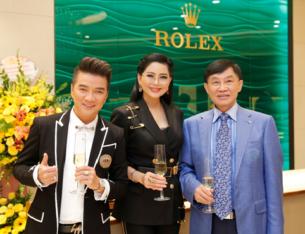 """""""Vua hàng hiệu"""" Johnathan Hạnh Nguyễn khai trương cửa hàng Rolex tại Tràng Tiền Plaza"""