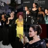 Angelina Jolie tái hiện hình ảnh Tiên Hắc Ám lên thảm đỏ trong thiết kế của Atelier Versace