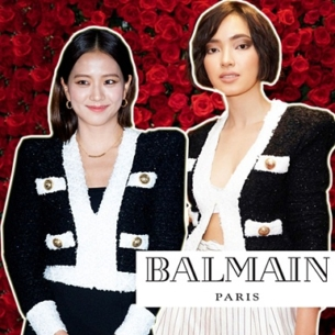 """""""Đụng hàng"""" áo khoác Balmain hơn 60 triệu: Châu Bùi cá tính, Jisoo (BLACKPINK) ngọt ngào"""