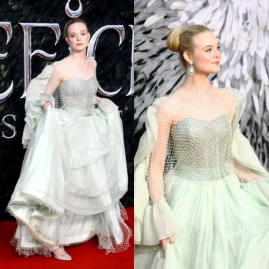 Elle Fanning hóa thân thành cô công chúa bước ra từ truyện cổ tích trên thảm đỏ