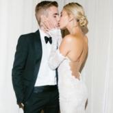 Cô dâu millennial Hailey Bieber diện đầm cưới Off-White trong ngày trọng đại