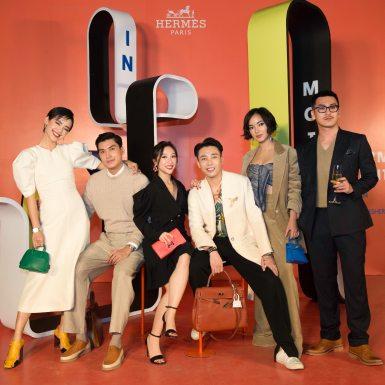 """Giới mộ điệu thời trang Việt đổ bộ Hà thành tham dự sự kiện triển lãm """"Hermès Heritage – In Motion"""""""