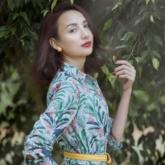 Hoa hậu Ngọc Diễm gây thương nhớ với những thiết kế vintage mùa thu
