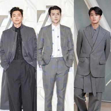 """""""Nam thần"""" Gong Yoo cùng Sehun, Mino, Eun-woo và những mỹ nhân đình đám """"đổ bộ"""" tiệc khai trương của Louis Vuitton"""