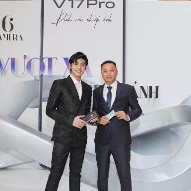 """Noo Phước Thịnh trở thành đại sứ điện thoại vivo V17 Pro mang thông điệp """"Biến Hóa Đa Chiều"""""""