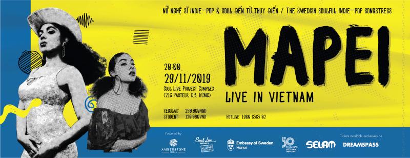 """Đêm nhạc """"MAPEI: LIVE IN VIETNAM"""""""