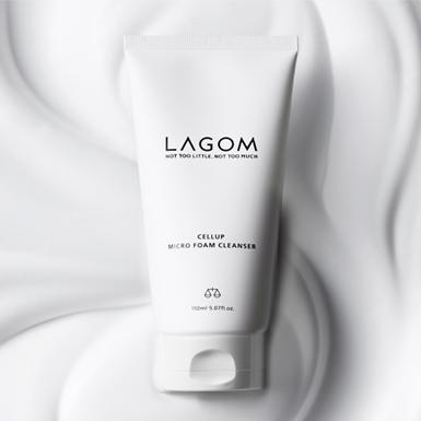 Sữa rửa mặt Lagom Cellup Micro Foam Cleanser – bảo bối dưỡng ẩm cho làn da tự nhiên