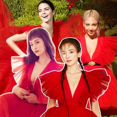 """Mẫu đầm """"hot hit"""" của Giambattista Valli x H&M khiến dàn sao Việt và mỹ nhân thế giới """"đụng hàng"""""""