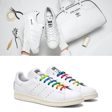 """adidas """"đánh úp"""" với hai siêu phẩm Superstar & Stan Smith hợp tác cùng Prada và Stella McCartney"""