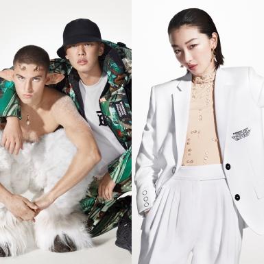 Châu Đông Vũ, Yoo Ah In đồng hành cùng Burberry trong chiến dịch mang thông điệp yêu thương