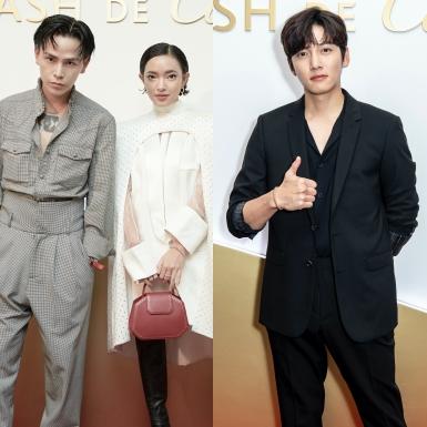 """Châu Bùi, Decao """"đụng độ"""" nam thần Ji Chang Wook tại sự kiện của Cartier ở Singapore"""