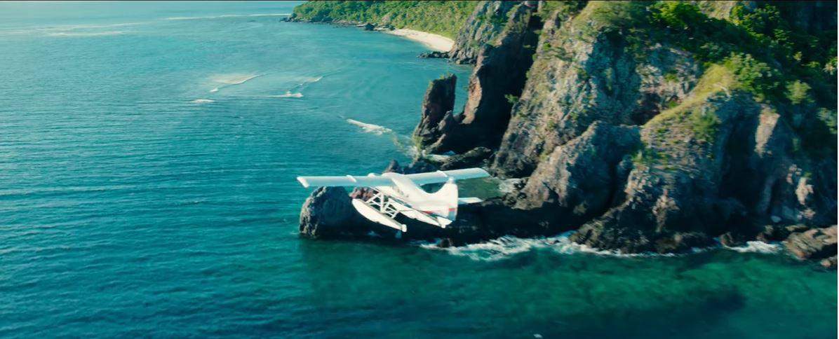 đảo kinh hoàng - bối cảnh phim ở fantasy island