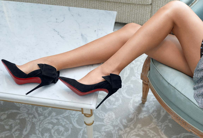 giày christian louboutin x mytheresa