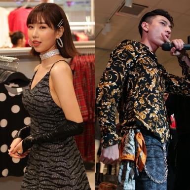 """Isaac """"hoa lá cành"""" cùng Min """"vằn vện"""" tại sự kiện khai trương cửa hàng H&M ở Đà Nẵng"""