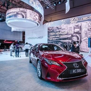 Mỗi chiếc xe Lexus là một tác phẩm nghệ thuật đích thực