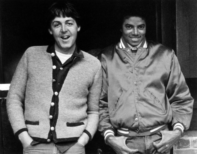 michael jackson và paul mccartney