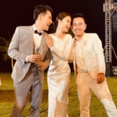 Hoa hậu H'Hen Niê diện đầm dạ hội tạo dáng khó trên vách đá cheo leo