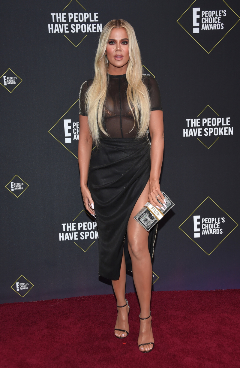 people's choice awards 2019 - khloe kardashian