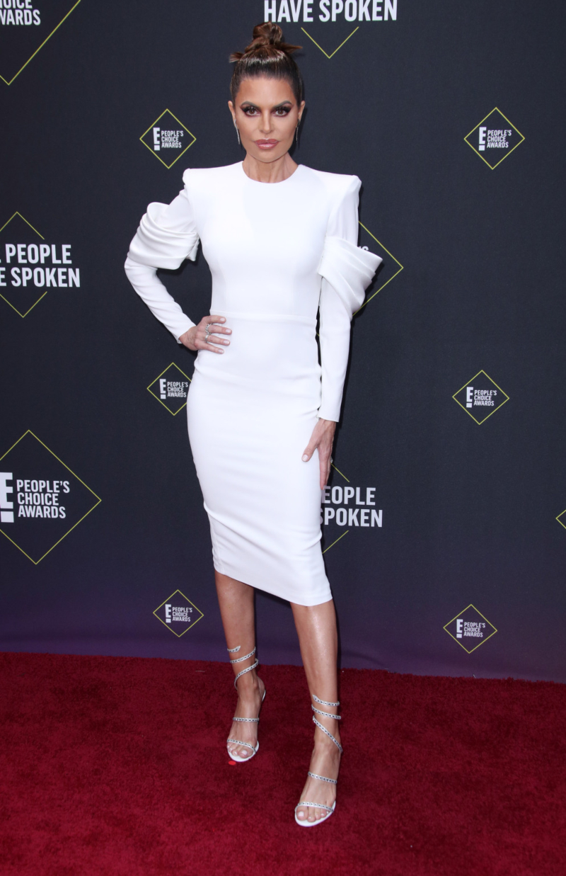 people's choice awards 2019 - lisa rinna