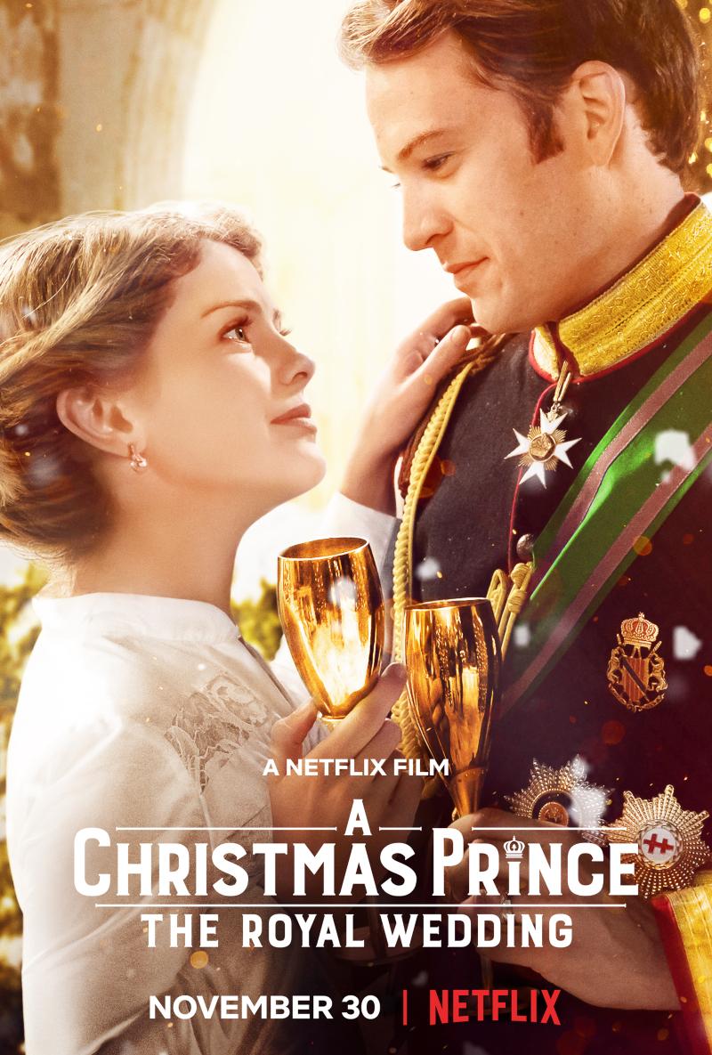 phim giáng sinh - poster phim a christmas prince
