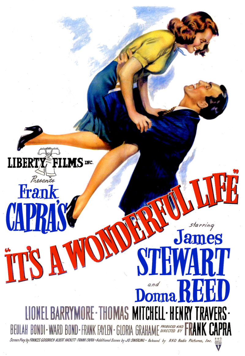 phim giáng sinh - poster phim it's a wonderful life