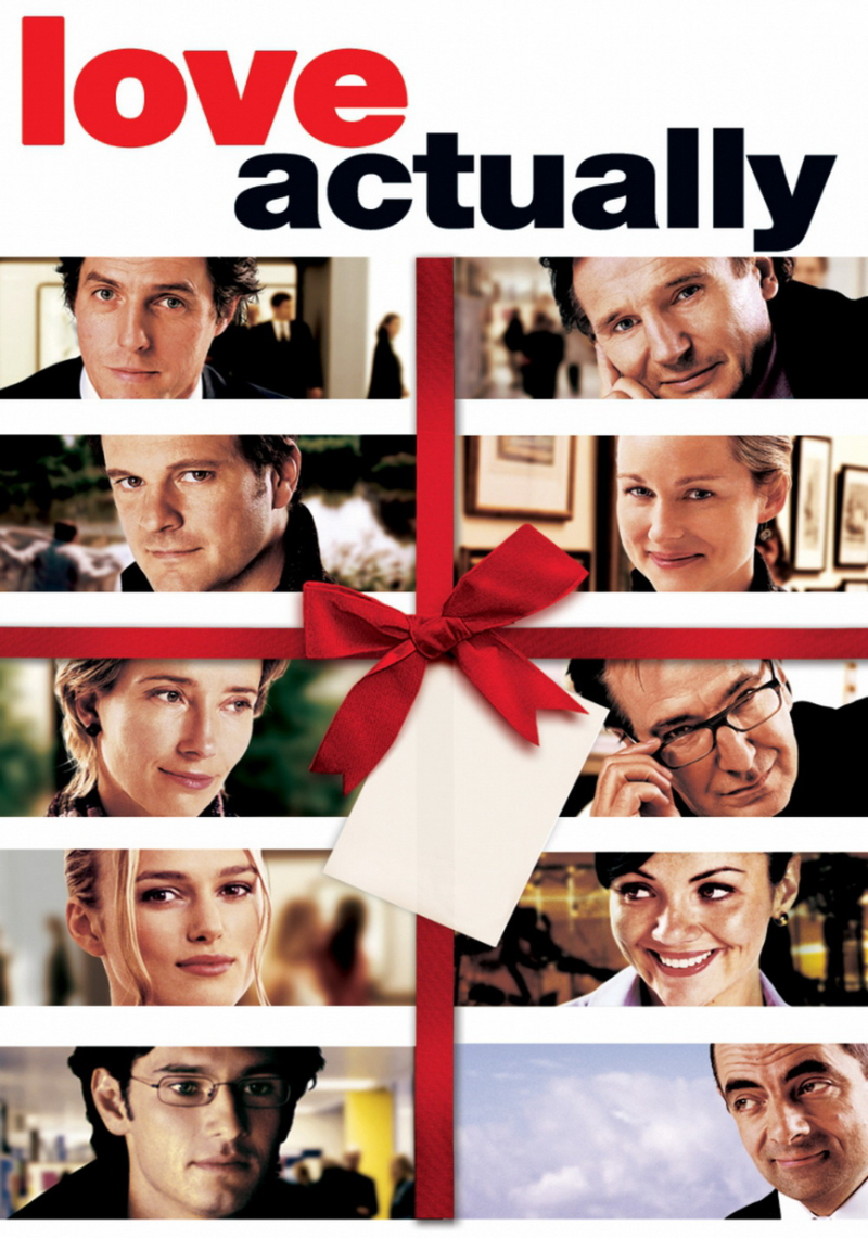 phim giáng sinh- poster phim love actually
