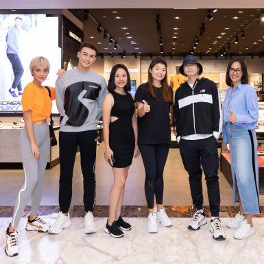 Karik khuấy động không khí sự kiện khai trương cửa hàng Skechers tại Vincom Đồng Khởi