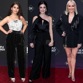 """Tông đen trắng chiếm """"thế thượng phong"""" trên thảm đỏ sự kiện People's Choice Awards 2019"""