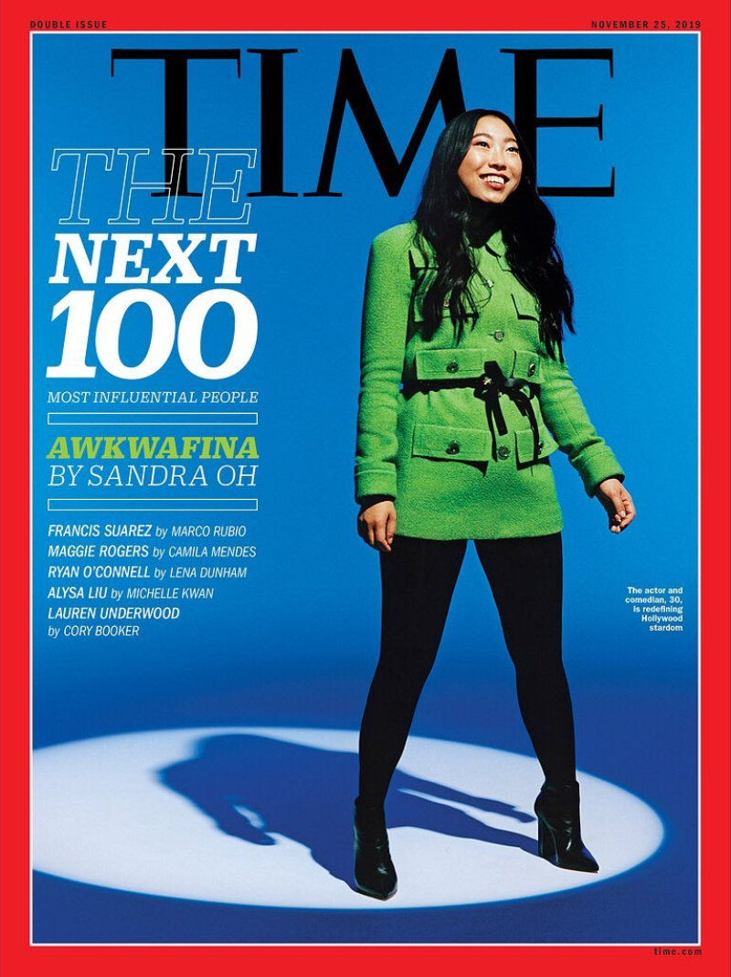 time 100 next - awkafina