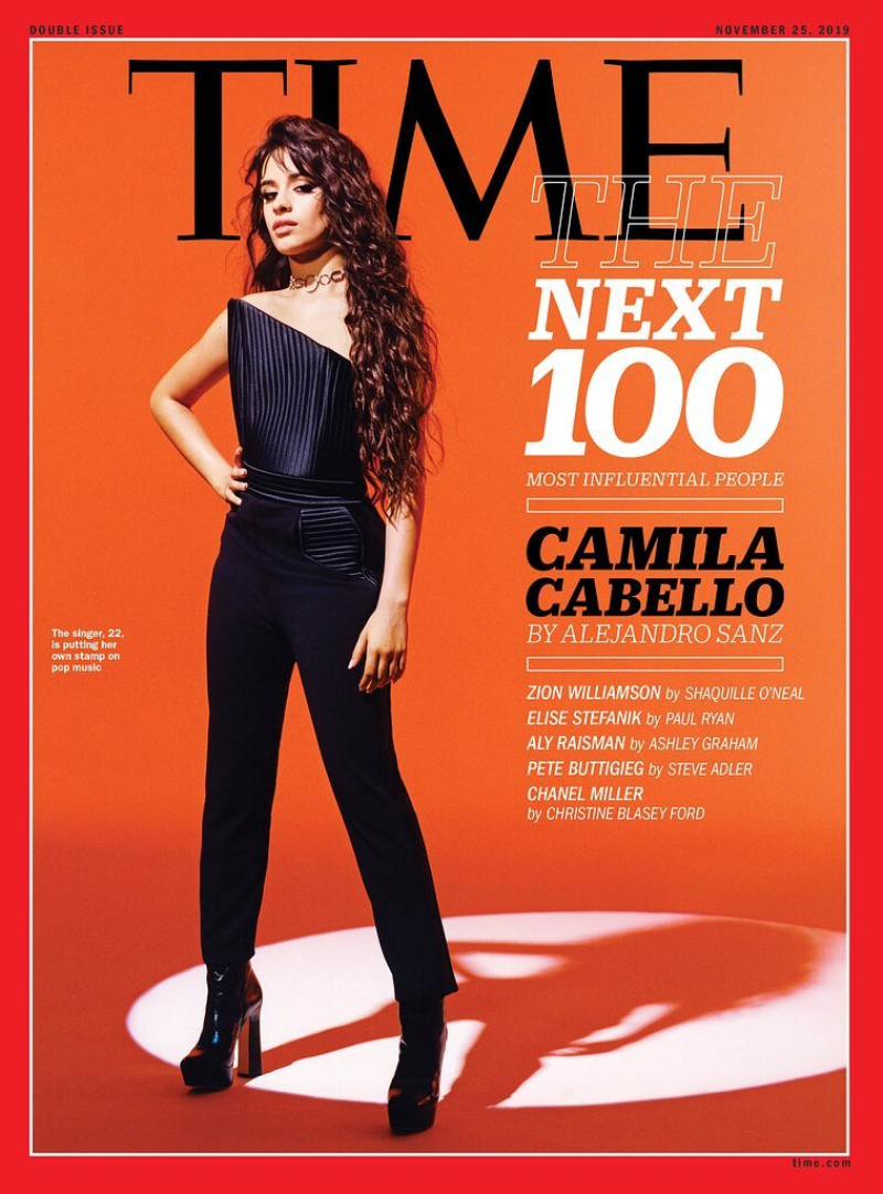 time 100 next - camila cabello