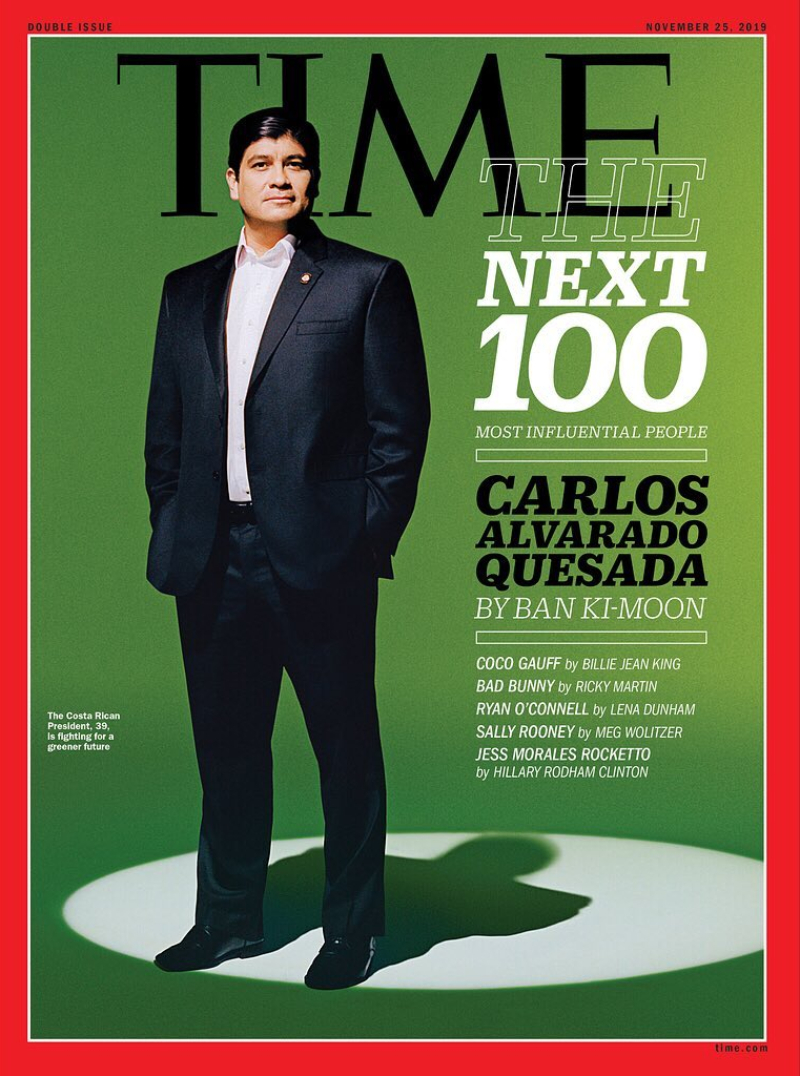 time 100 next - carlos alvarado quesada