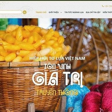 Toluavietnam.net – cổng thông tin trực tuyến đầu tiên về tơ lụa Việt nam