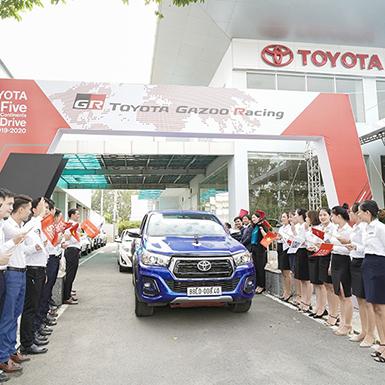 Toyota với hành trình 5 châu năm 2019