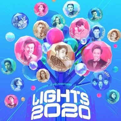 """Thanh Bùi, Sơn Tùng M-TP, Vũ Cát Tường… khuấy đảo """"Lễ hội ánh sáng Countdown Lights 2020"""""""