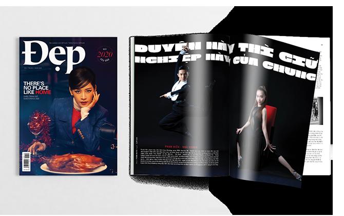 Tạp chí Đẹp số tháng 1