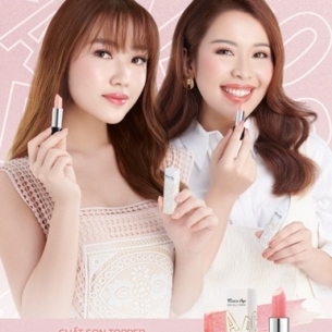 Ấn tượng 6 màu son trong BST son mới của 2 beauty blogger An Phương và Chloe Nguyễn
