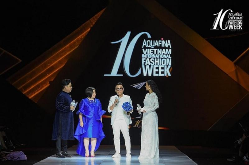 NTK nguyễn công trí tại vietnam international fashion week