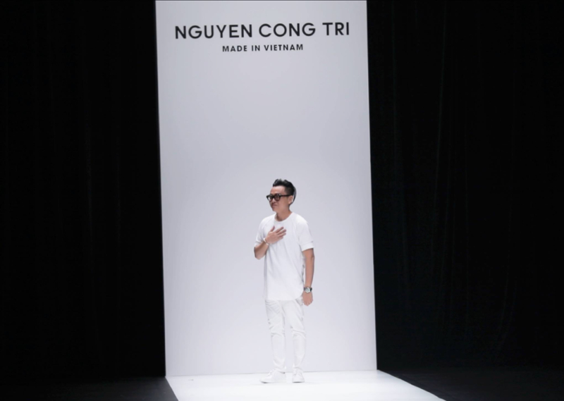 NTK nguyễn công trí - tokyo fashion week 2017