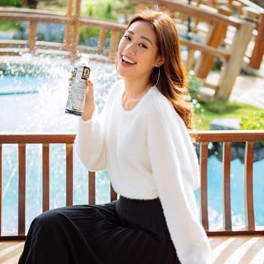 Tân HHHVVN Khánh Vân gây ấn tượng với phong cách trẻ trung