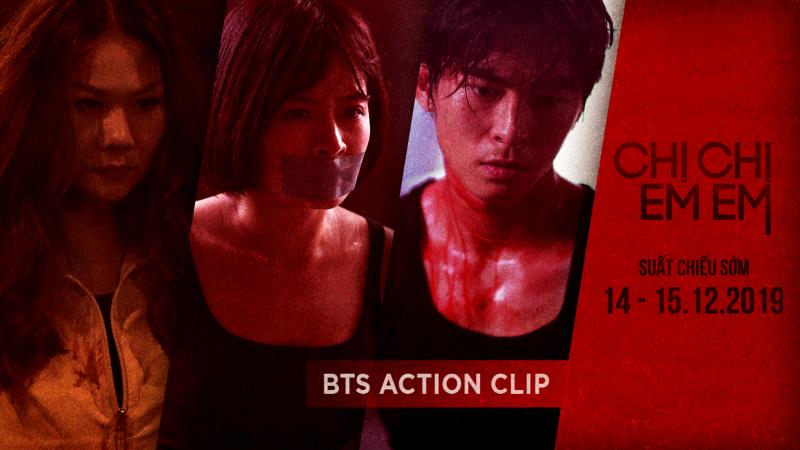 bts action clip của phim chị chị em em