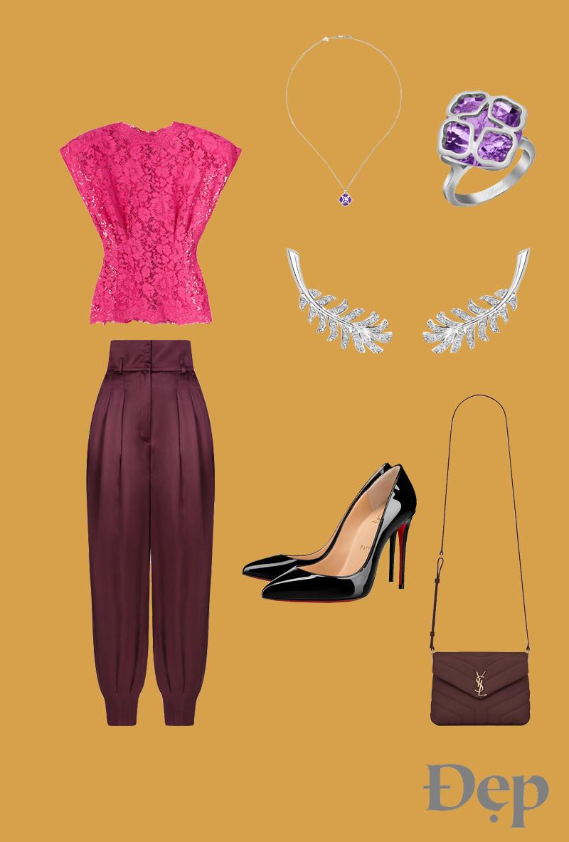 đẹp - outfit 3 - phối trang phục giáng sinh