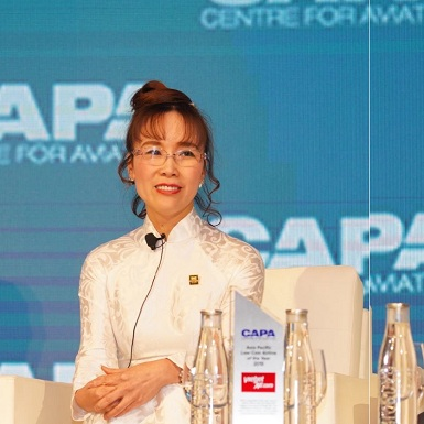 CEO Vietjet Nguyễn Thị Phương Thảo tiếp tục vào Top 100 phụ nữ quyền lực nhất thế giới