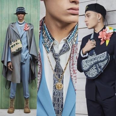 NTK Kim Jones mang những chàng trai đến cùng những bông hoa trong BST Dior Men Thu 2020