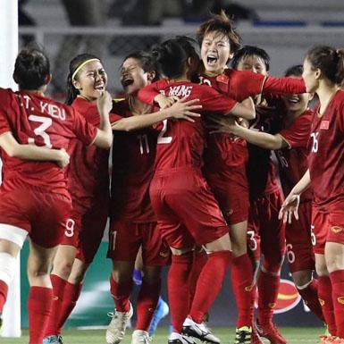 Đoạt HCV bộ môn bóng đá nữ, đội tuyển nữ Việt Nam tiếp tục khẳng định vị thế số 1 ở Đông Nam Á